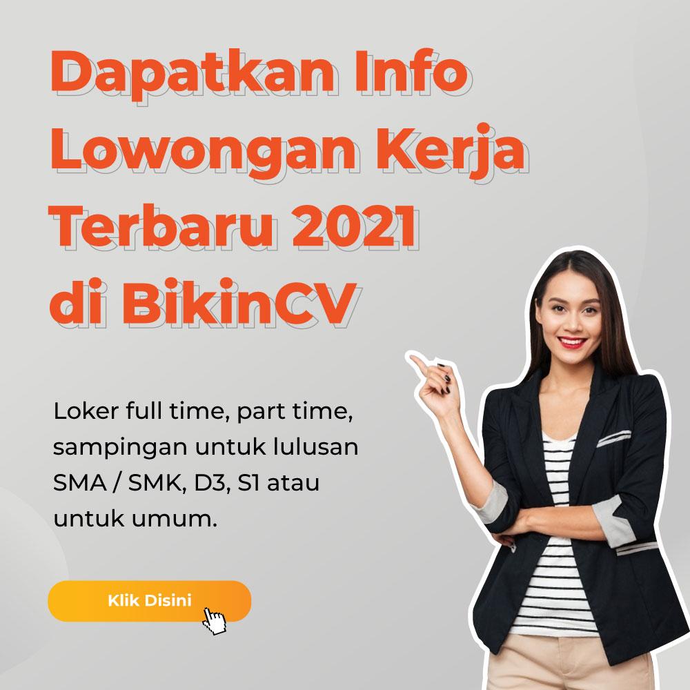Info Lowongan Kerja