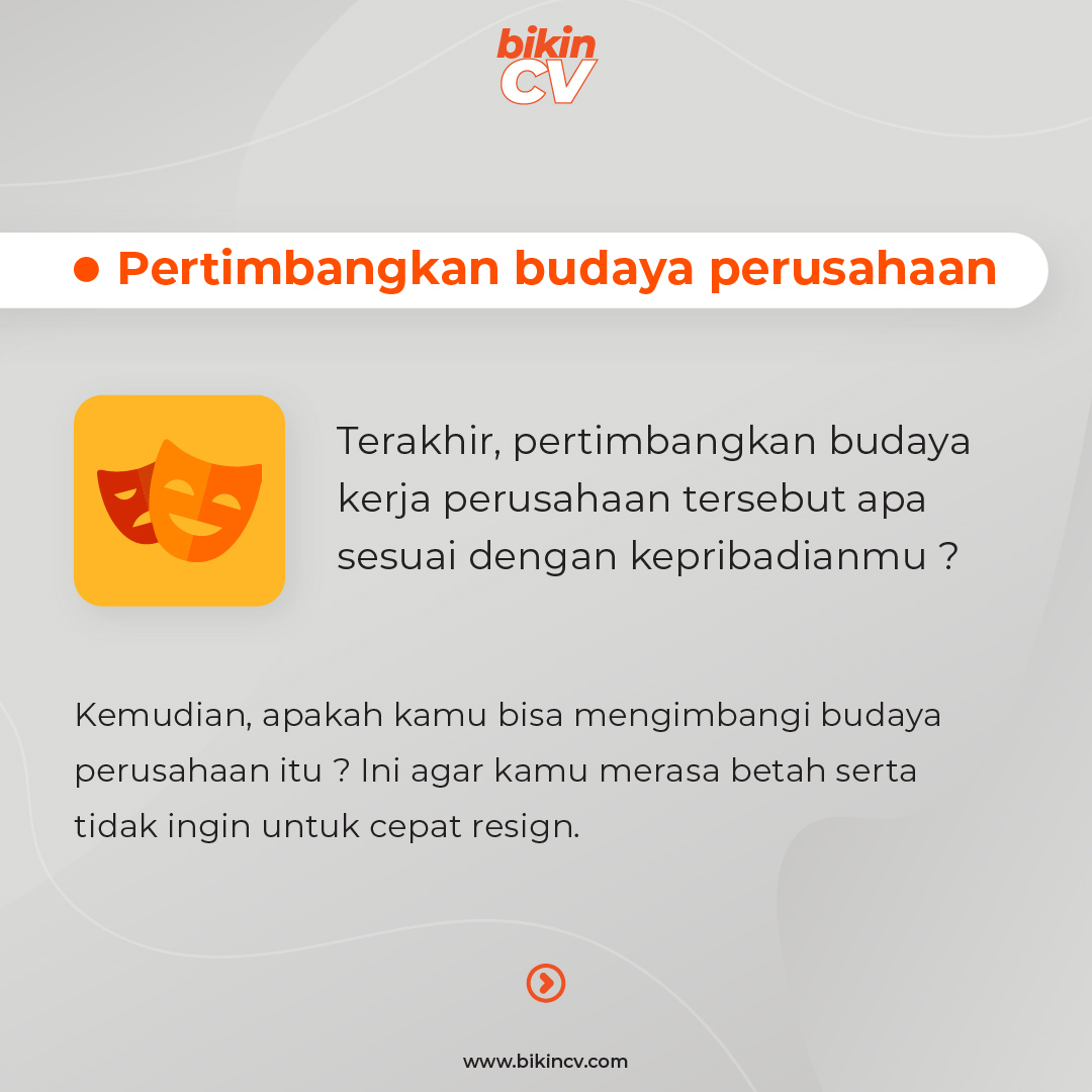 Pertimbangan Penting Sebelum Kerja Agar Betah & Gak Mikir Resign