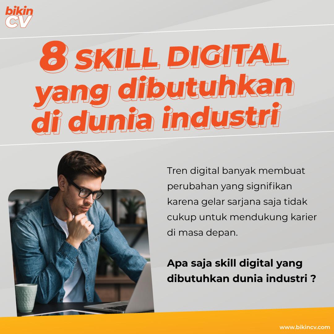 8 Skill Digital Yang Dibutuhkan Di Dunia Industri