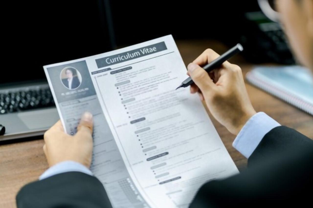 Contoh Daftar Riwayat Hidup CV Untuk Melamar Kerja