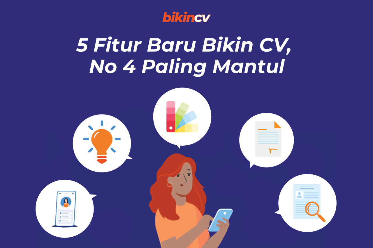 5 Fitur Baru BikinCV, No. 4 Paling Mantul