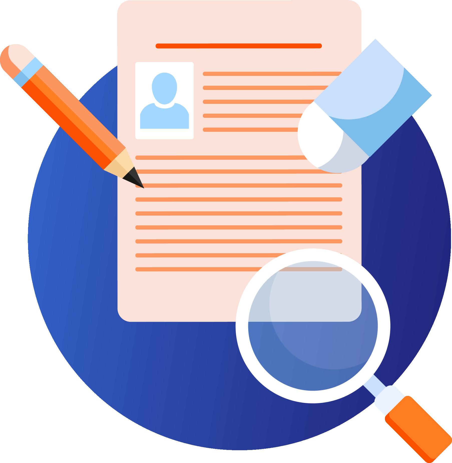 Warna Desain CV dan Surat Lamaran Kerja